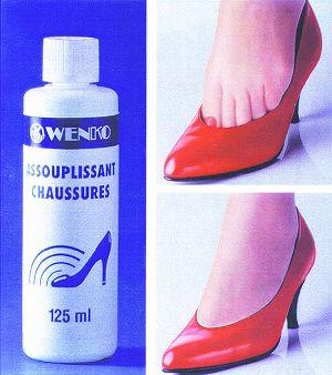 Assouplissant pour les chaussures