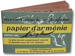 Carnet de papier d'Armenie