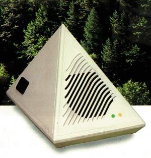 ioniseur pyramid 39 ions le dos agile. Black Bedroom Furniture Sets. Home Design Ideas