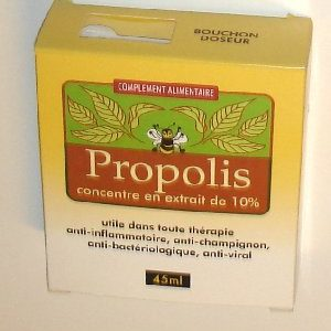 antibiotique naturel a la propolis