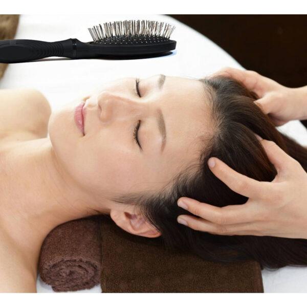 Brosse à cheveux magnétique