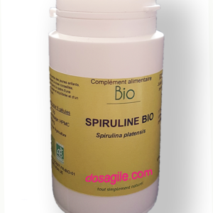la algue spiruline biologique anti carence