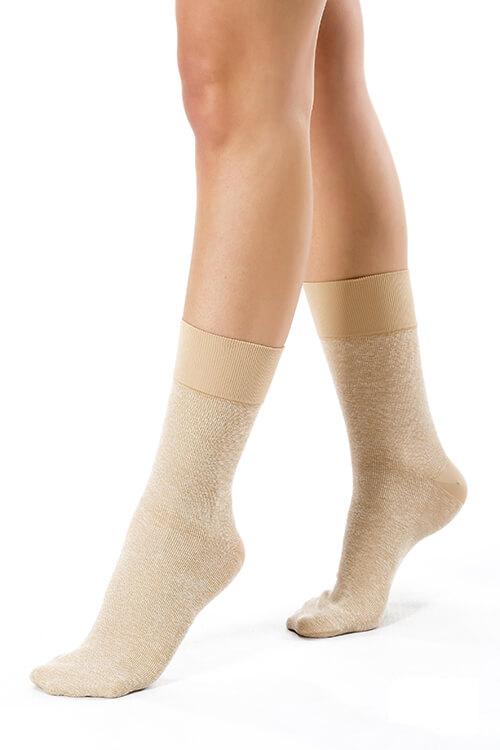 chaussettes avec ambre