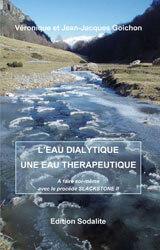 Livre l'eau dialytique une eau therapeutique