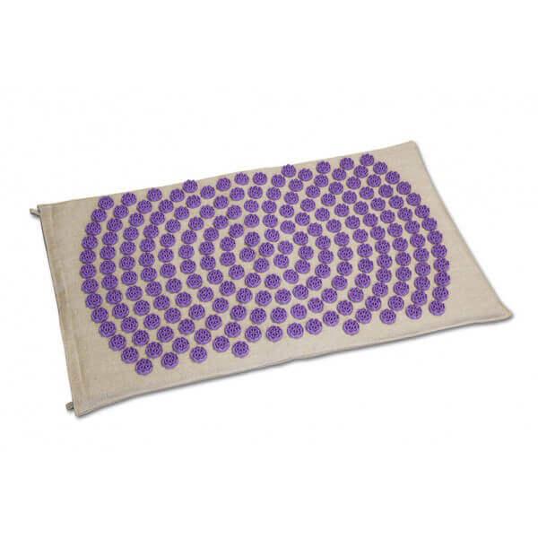 """Tapis de massage """"champs de fleurs"""" shantimat de couleur violet"""