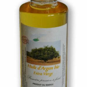 Véritable huile d'argan cosmétique et biologique