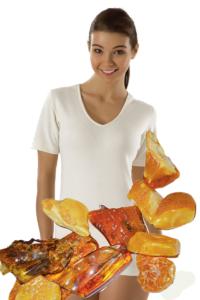 t-shirt ambre femme