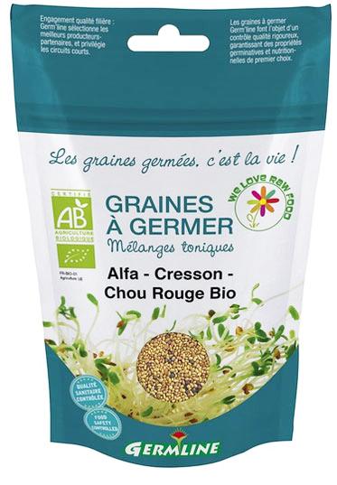 mélange de graines a germer bio