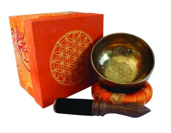 Bol chantant set orange