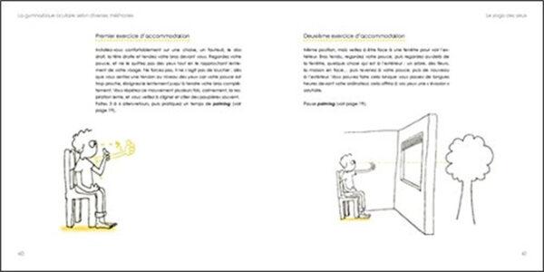 Voir clair sans lunettes – Le livre d'exercices – Plus de 30 exercices illustrés