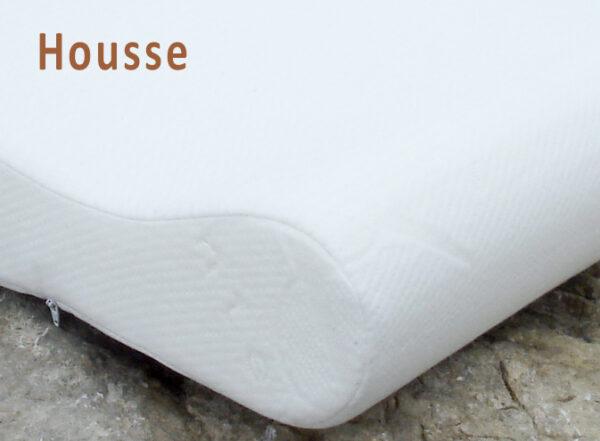 Housse supplémentaire pour l'oreiller ergoform